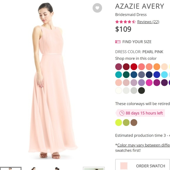 7cb17075bc4 Azazie Avery Bridesmaid Dress